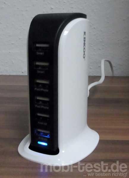 Kinkoo 40W 6-Port USB Ladegerät (1)