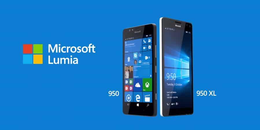 Microsoft Lumia 950 und 950 XL Banner
