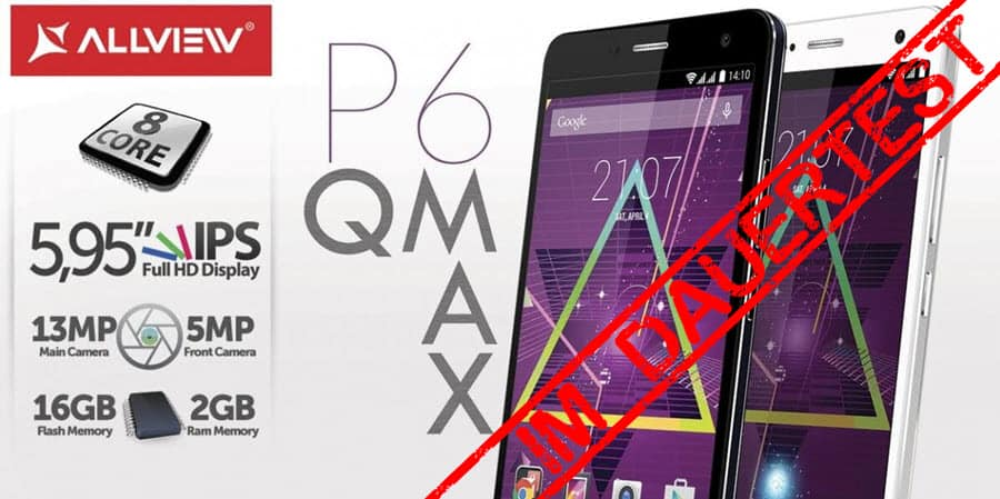 Allview P6 QMax Banner