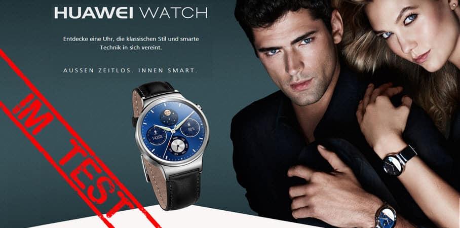 Huawei Watch Test Banner