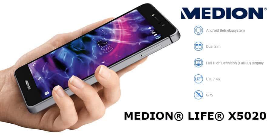 Medion Life X5020 Banner
