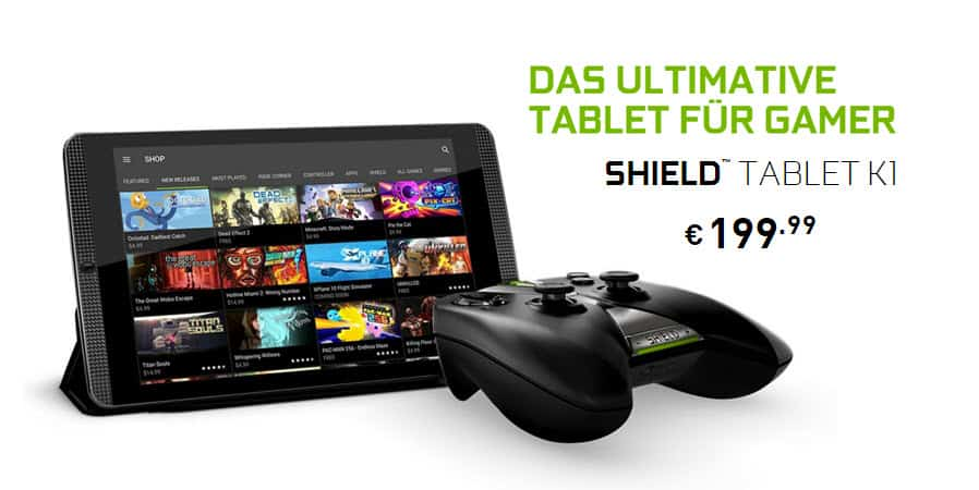 Nvidia Shield Tablet K1 Banner
