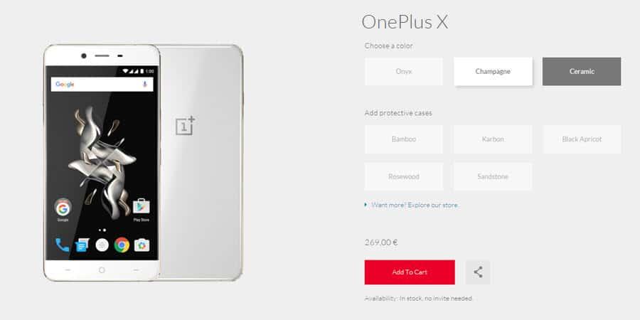 OnePlus X Banner