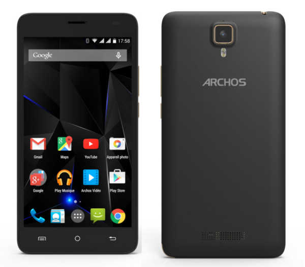 archos 50d oxygen handliches einsteiger smartphone mit. Black Bedroom Furniture Sets. Home Design Ideas