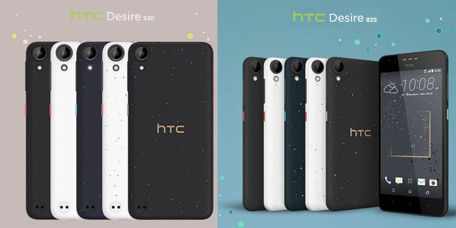 HTC Desire 530 Desire 825 Banner