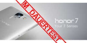 Honor 7 Test Banner