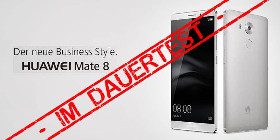 Huawei Mate 8 Test Banner