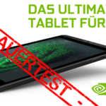 NVIDIA SHIELD Tablet K1 im Dauertest – die Übersicht