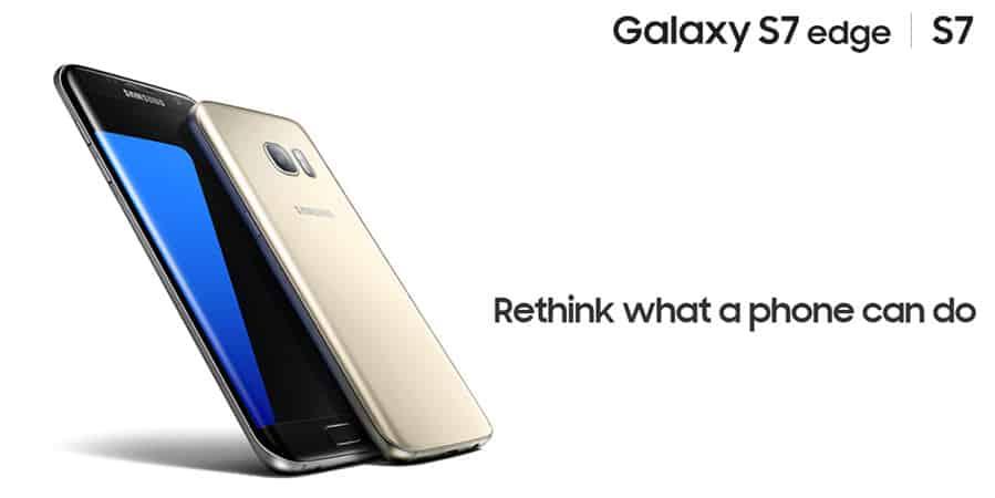 Samsung Galaxy S7 S7 Edge Banner