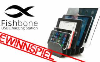Gewinnspiel – eine Fishbone Charging Station
