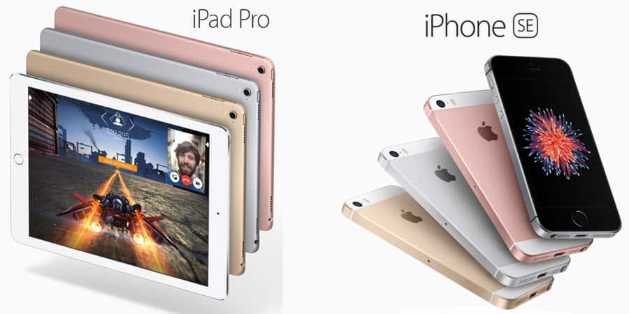 iPhone SE iPad Pro Banner