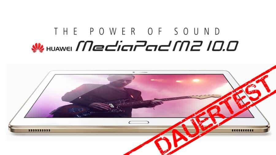 Huawei MediaPad M2 10.0 Test Banner