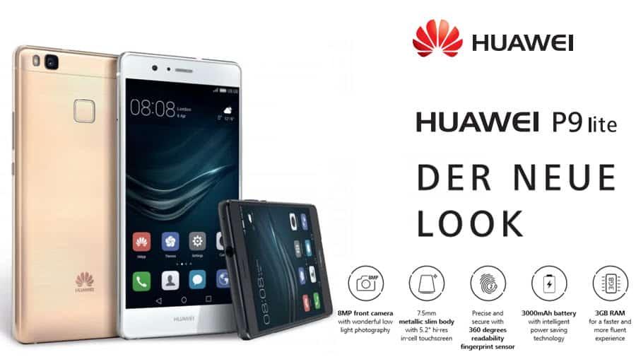 Huawei P9 Lite Banner