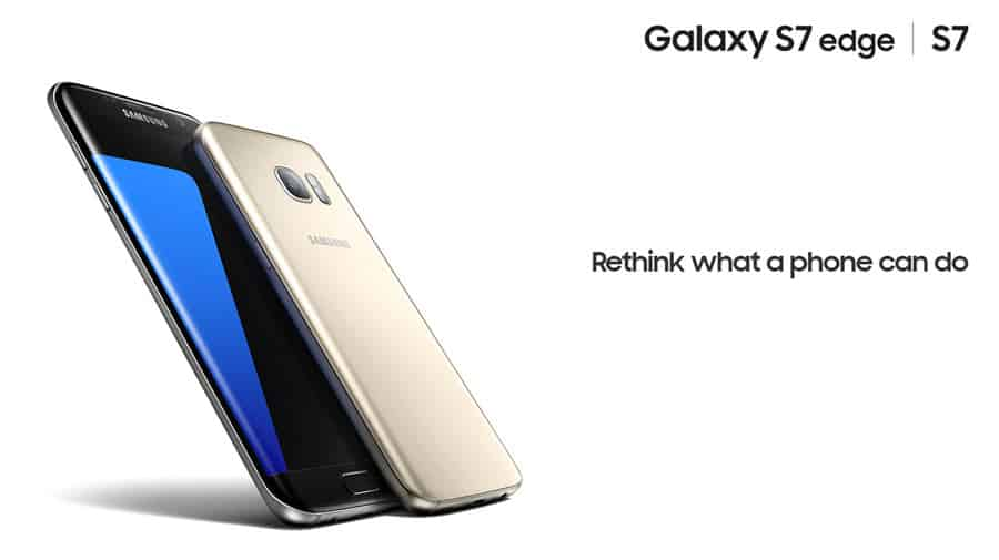 Samsung Galaxy S7 Edge Test Banner