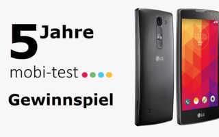 Gewinnspiel – 5 Jahre mobi-test.de