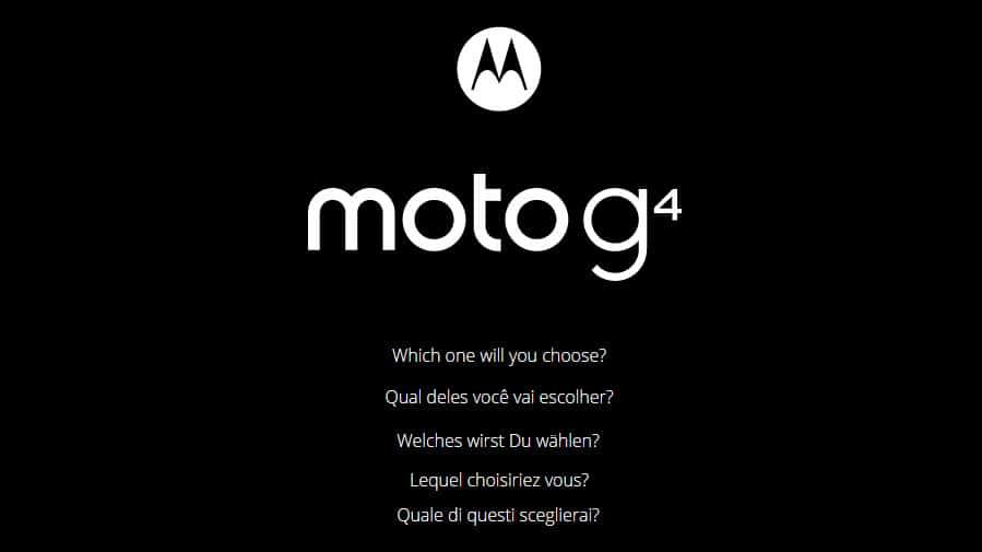 Moto G4 Plus Banner