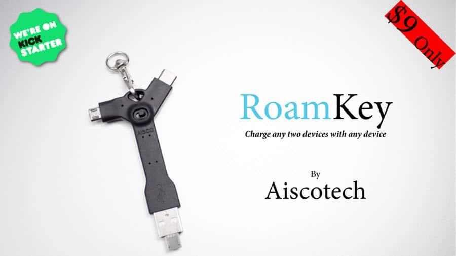 Roamkey Kickstarter Banner