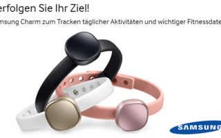 Charm by Samsung – ein Fitnesstracker der Lifestyle vermitteln soll