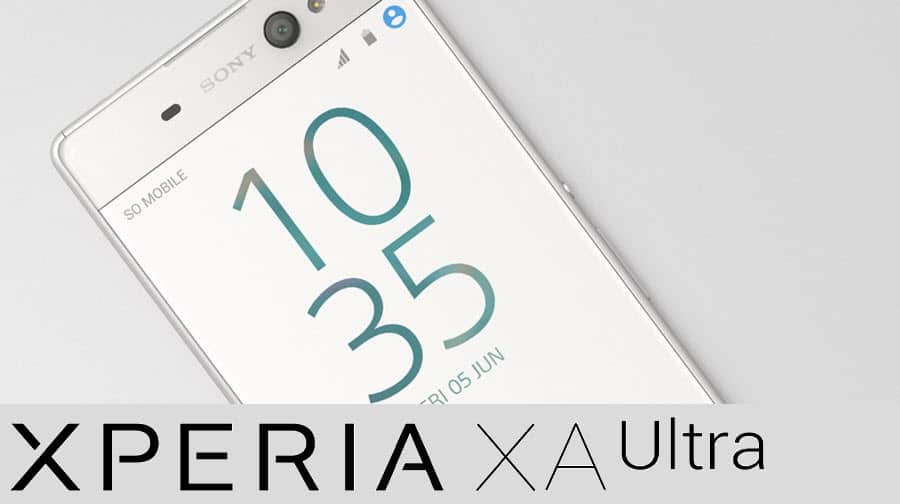 Sony Xperia XA Ultra Banner