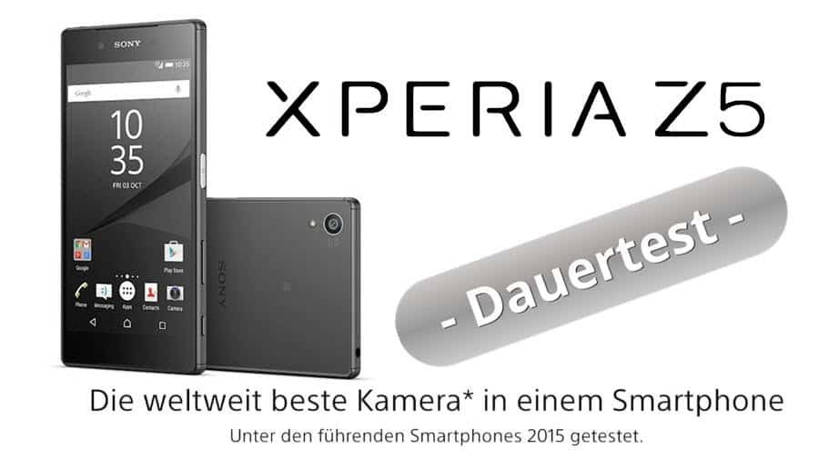 Sony Xperia Z5 Test Banner