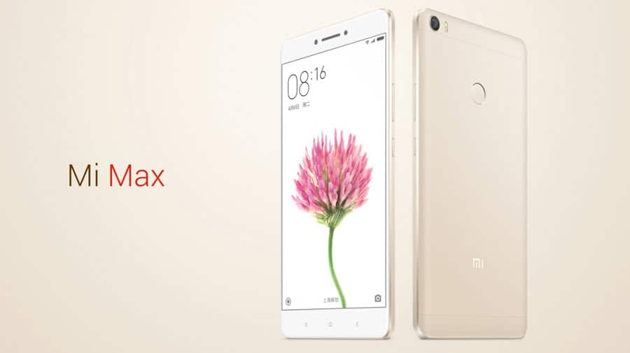 Xiaomi Mi Max Banner
