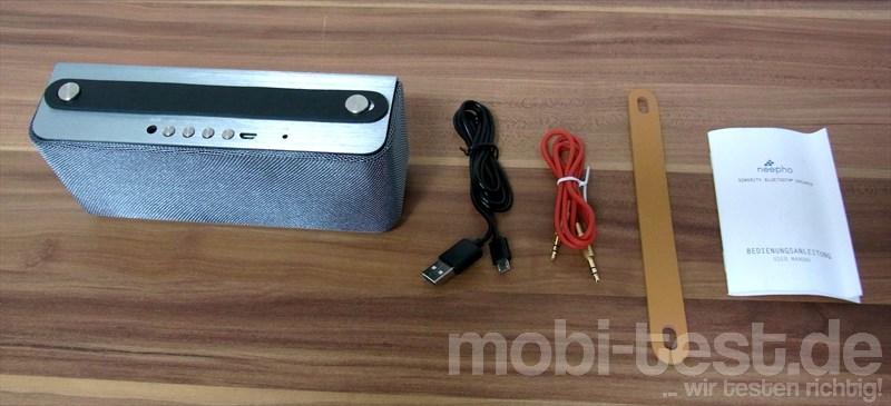 neepho Sonority Bluetooth Lautsprecher (1)