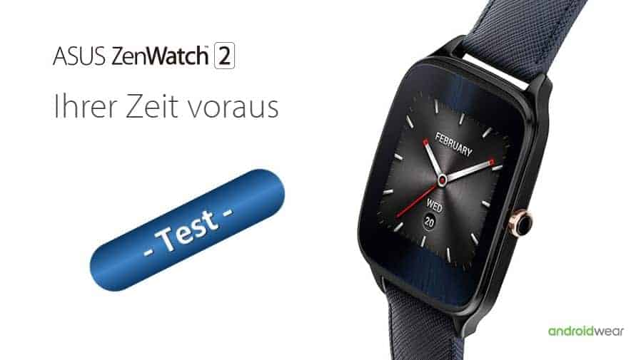 ASUS ZenWatch 2 Test Banner