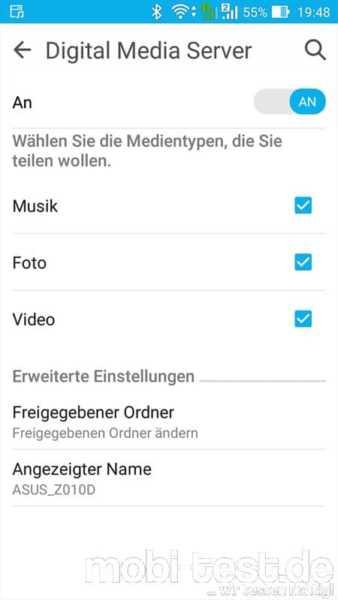 Asus ZenFone Max Verbindungen (2)