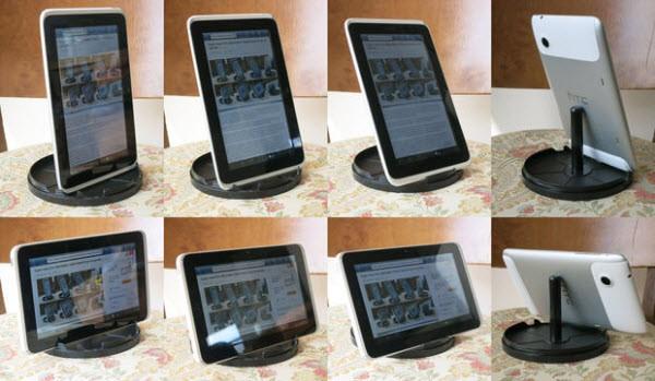CD Spindel Tablet Ständer