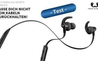 Im Test – die Fresh 'n Rebel Lace Wireless Sports Earbuds