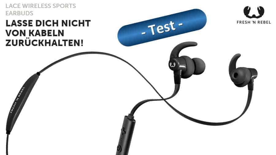 Fresh 'n Rebel Lace Wireless Sports Earbuds Test Banner