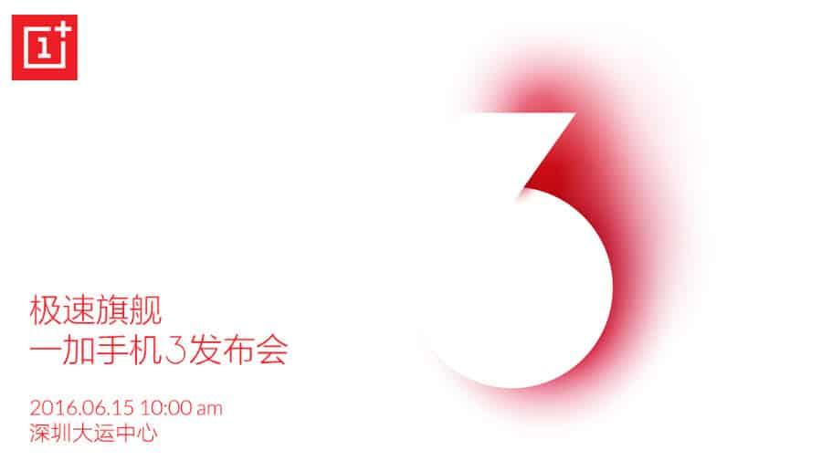 OnePlus 3 Banner