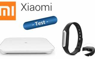 Im Test – Xiaomi Mi Band 1S mit Zubehör und die smarte Waage Mi Smart Scale