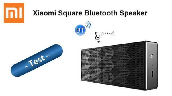 im test der xiaomi mi square box bluetooth lautsprecher f r knapp 17 euro. Black Bedroom Furniture Sets. Home Design Ideas