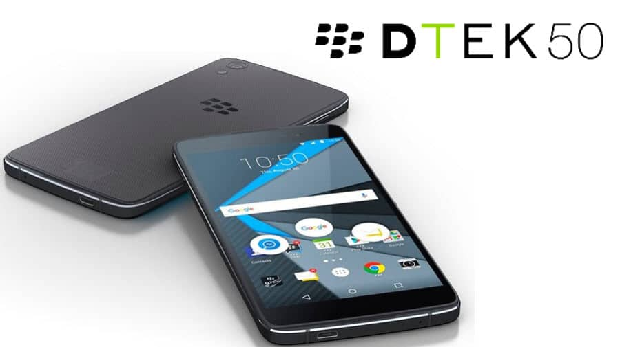 BlackBerry DTEK50 Banner