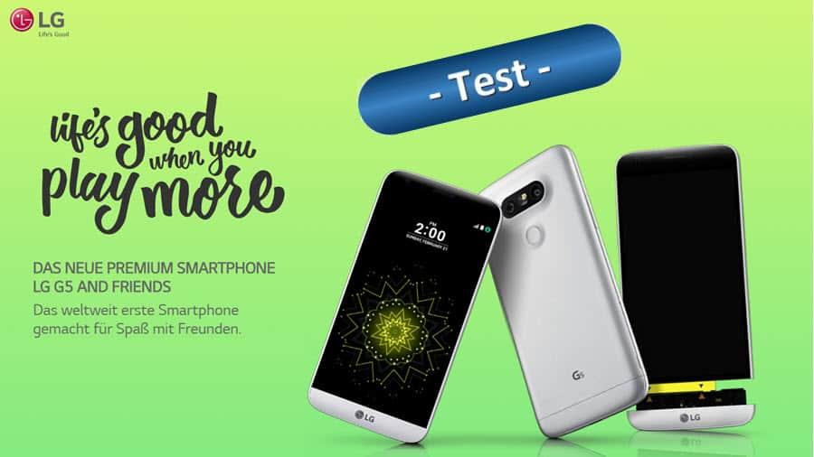 LG G5 Test Banner