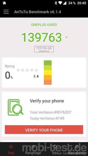 OnePlus 3 Leistung (3)