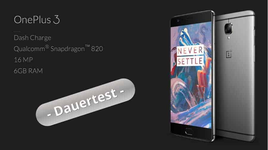 OnePlus 3 Test Banner