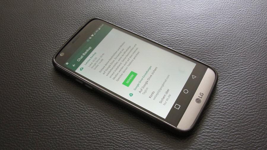 Android Backup erstellen