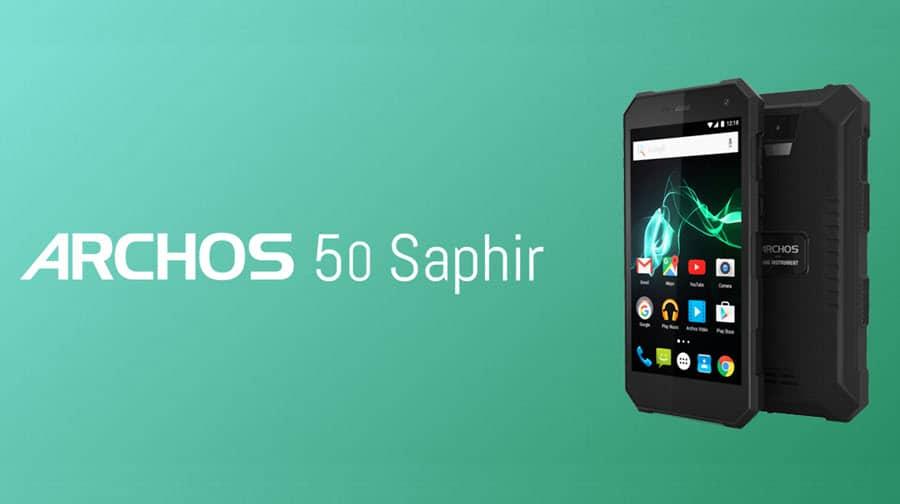 Archos 50 Saphir Banner