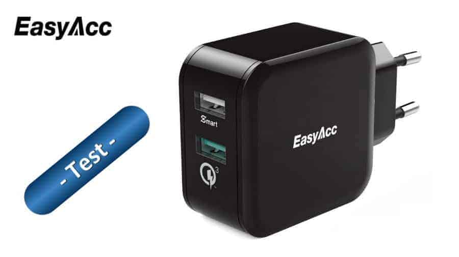 EasyACC 30W Quick Charge 3.0 Ladegerät Banner