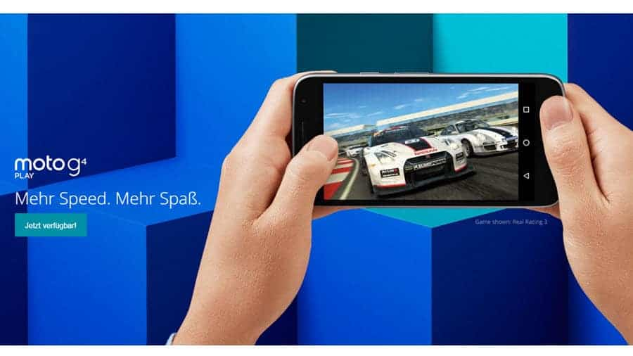 Moto G4 Play Banner
