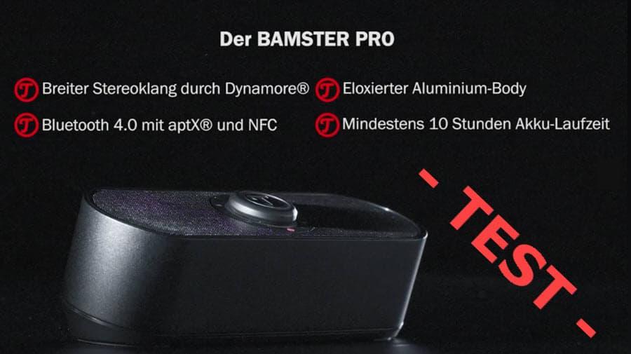 Teufel Bamster Pro Test Banner