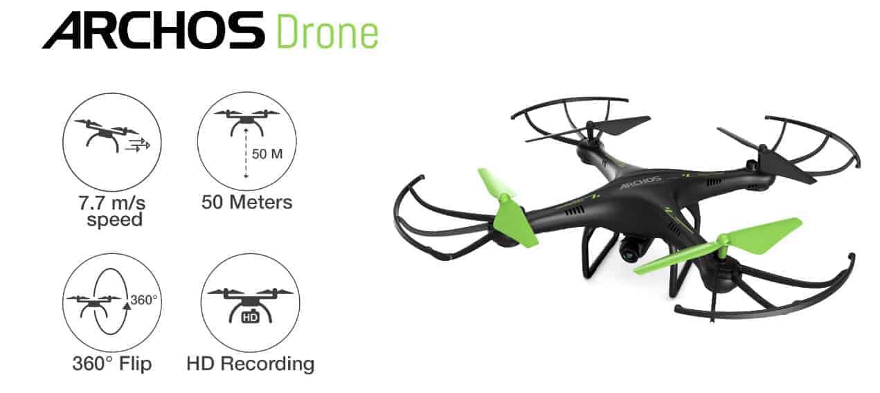 Archos Drohne Banner