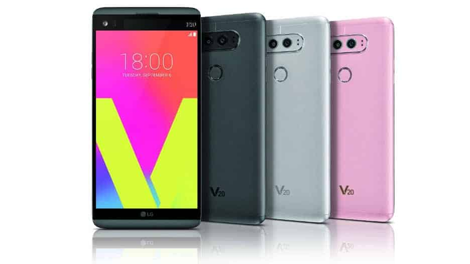 LG V20 Farben