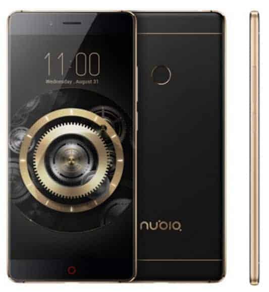 Nubia Z11 Gold