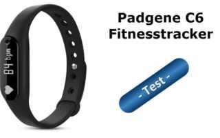 Im Test – der Padgene C6 Fitnesstracker