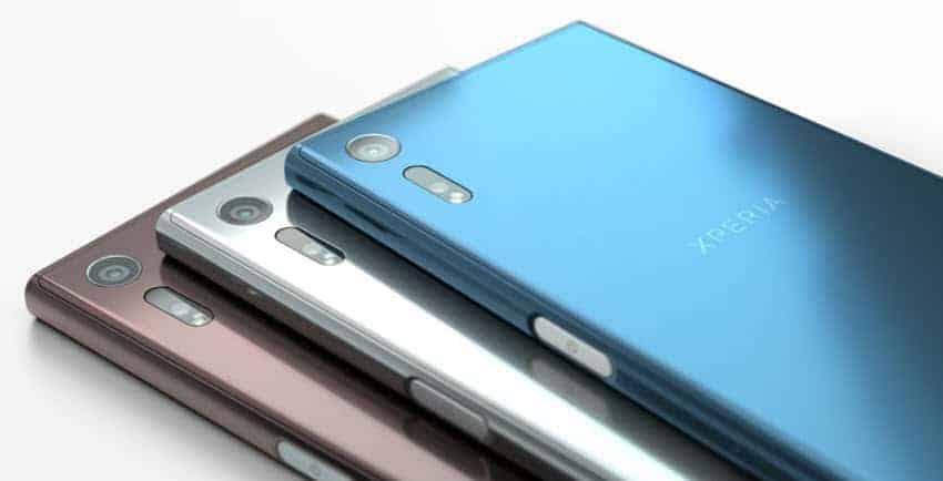 Sony Xperia XZ Farben