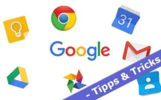 [Tipps und Tricks] So schützt man sich mit Google vor dem Datenverlust