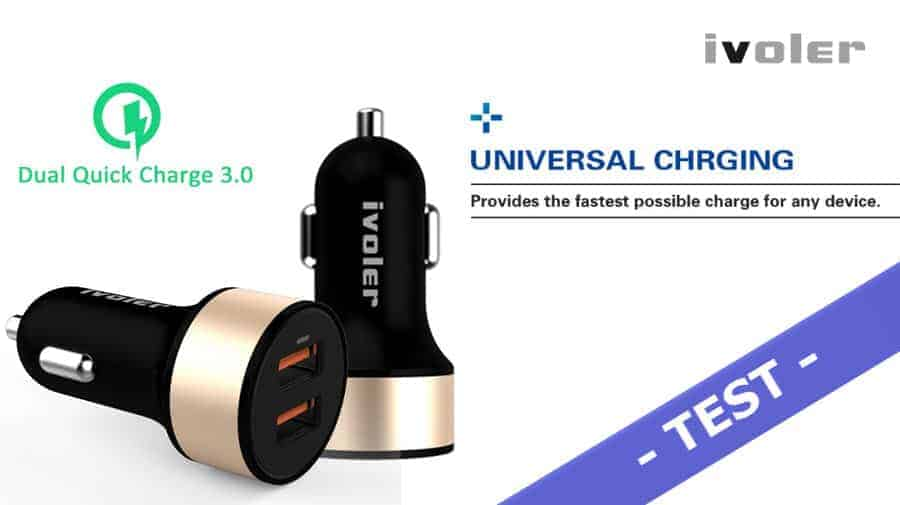 Im Test – iVoler 36W KFZ Ladegerät mit Quick Charge 3.0